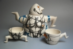 "Exhibition ""Parallel Currents. Porcelain Art and Design in Latvia in 1980s-90s"""