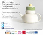 Competition Future Lights of Ceramics 2016/2017